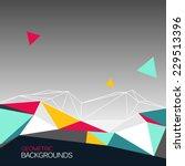 vector background  abstract... | Shutterstock .eps vector #229513396