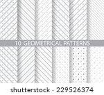 12 different seamless patterns  ... | Shutterstock .eps vector #229526374