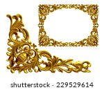 Golden Frame With Baroque...