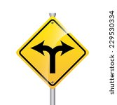 road signal graphic design  ... | Shutterstock .eps vector #229530334