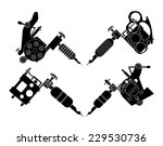 set of 4 different style... | Shutterstock .eps vector #229530736