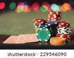 poker table   Shutterstock . vector #229546090