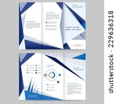 abstract colored brochure... | Shutterstock .eps vector #229636318