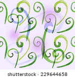 abstract spiral shapes seamless ... | Shutterstock . vector #229644658