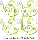 abstract spiral shapes... | Shutterstock . vector #229644664
