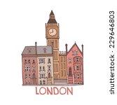 london illustration. | Shutterstock .eps vector #229646803