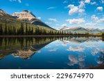 Waterfowl Lake  Banff National...