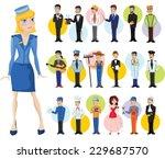 cartoon vector characters of... | Shutterstock .eps vector #229687570