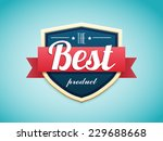 retro badge | Shutterstock .eps vector #229688668