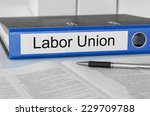 folder with the label labor... | Shutterstock . vector #229709788