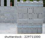 Pallet With Concrete Blocks Fo...