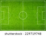 green football stadium field | Shutterstock . vector #229719748