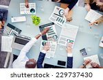 business people accounting... | Shutterstock . vector #229737430