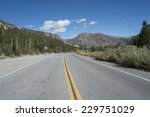 highway yosemite | Shutterstock . vector #229751029