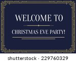 great vintage invitation sign... | Shutterstock .eps vector #229760329