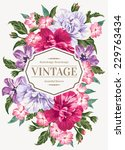Vintage Wedding Invitation Wit...