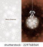 christmas background. | Shutterstock .eps vector #229768564