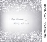 beautiful christmas gray...   Shutterstock .eps vector #229770208