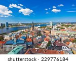 The Panoramic View Of Riga ...