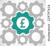 gear with pounds in the...   Shutterstock .eps vector #229797616