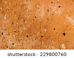 Small photo of clinker brick wall detail - background and afterimage