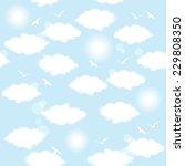 vector illustration of flying... | Shutterstock .eps vector #229808350