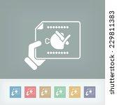 paper food | Shutterstock .eps vector #229811383