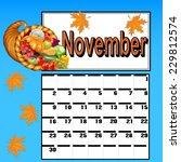 illustration calendar for... | Shutterstock .eps vector #229812574