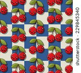 seamless pattern design with... | Shutterstock .eps vector #229845340