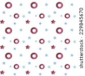vintage seamless pattern with... | Shutterstock .eps vector #229845670