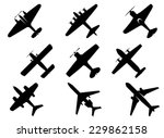 Black Vector Aircraft...