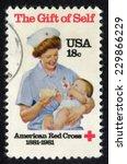 Usa  Circa 1981  Postage Stamp...