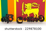 Sinhalese Characters Made Of...
