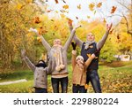 family  childhood  season and... | Shutterstock . vector #229880224