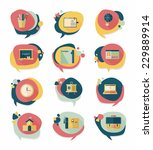 school bubble speech banner... | Shutterstock .eps vector #229889914