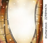 cinema background with retro... | Shutterstock .eps vector #229894474