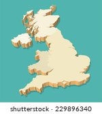 Uk Map Free Vector Art Free Downloads - United kingdom map vector