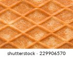 Structure Sweet Waffle Closeup...