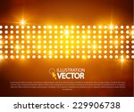 abstract colorful light... | Shutterstock .eps vector #229906738