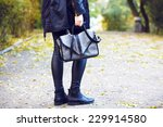 fashion outdoor image of... | Shutterstock . vector #229914580