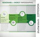 renewable energy vector... | Shutterstock .eps vector #229935454