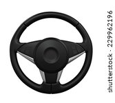 steering wheel isolated | Shutterstock . vector #229962196