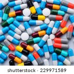 pills and capsules | Shutterstock . vector #229971589