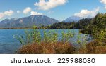 pictorial alpine lake barmsee ... | Shutterstock . vector #229988080