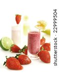 colorful fruity smoothies | Shutterstock . vector #22999504