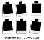 6 variously placed old photos... | Shutterstock . vector #229999606