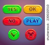buttons with yes  no  ok  play...