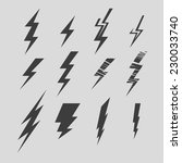 vector illustration set of... | Shutterstock .eps vector #230033740