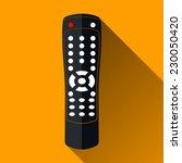 Modern Remote Control Icon ...