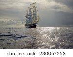 Sailing. Series Of Ships And...
